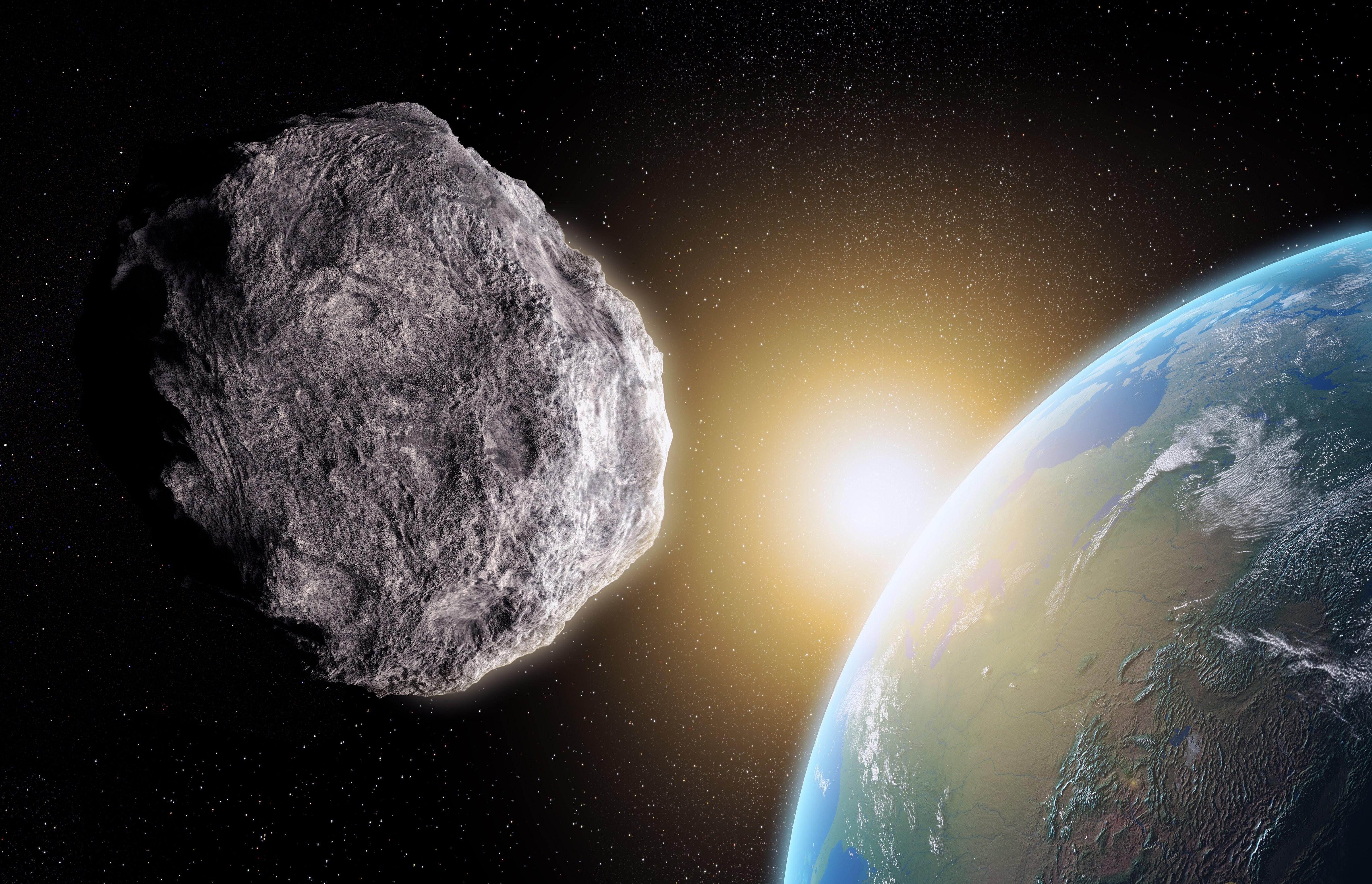 Через несколько дней кЗемле приблизится потенциально опасный астероид