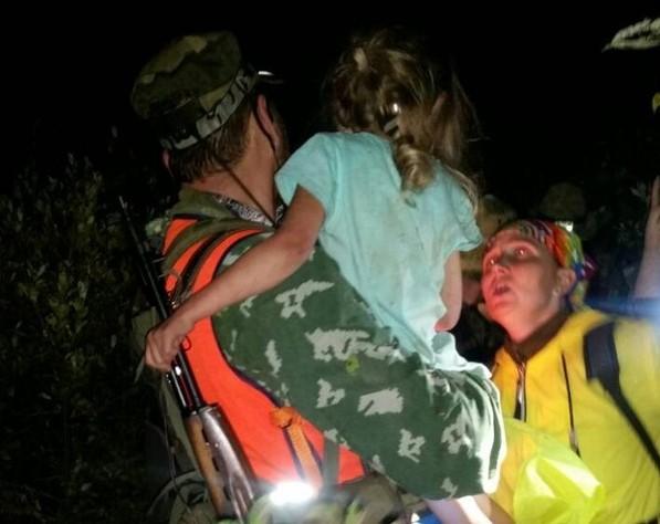 В Нижегородской области нашли живой 5-летнюю девочку, которую искали трое суток: видео | CityTraffic