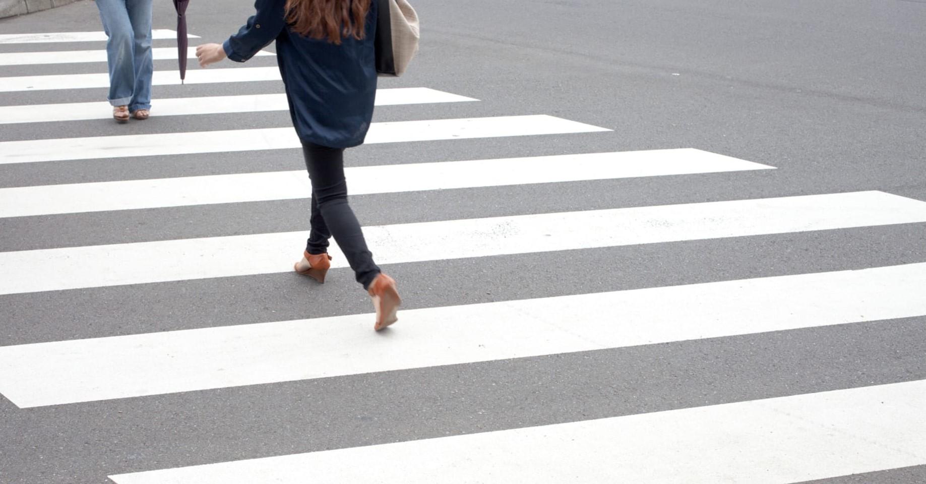 Россияне предлагают ввести административную ответственность для пешеходов, по вине которых произошли ДТП
