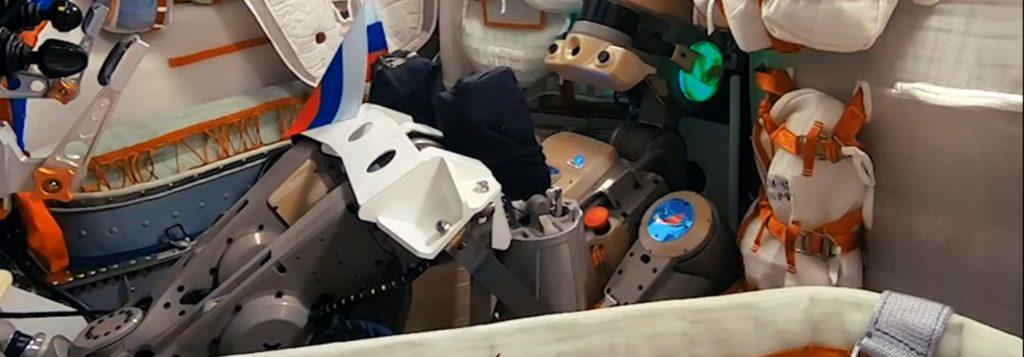 Робот-космонавт «Федор» поздравил российских школьников и студентов  с Днем знаний: видео | CityTraffic