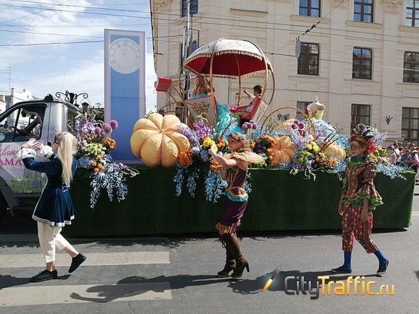 В Самаре более 50 тысяч человек приняли участие вфестивале цветов