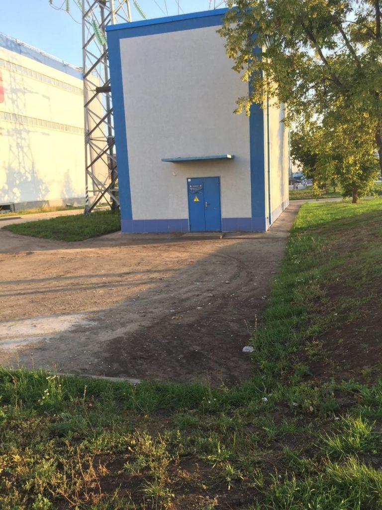 В Самаре на Московском шоссе будут восстанавливать размытый от дождя газон | CityTraffic
