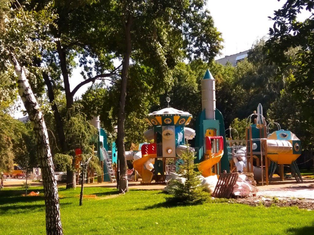 Чиновники: «Космический» сквер Фадеева в Самаре готов на 98% | CityTraffic