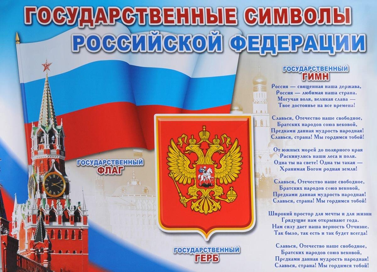 Символика россии герб флаг картинки