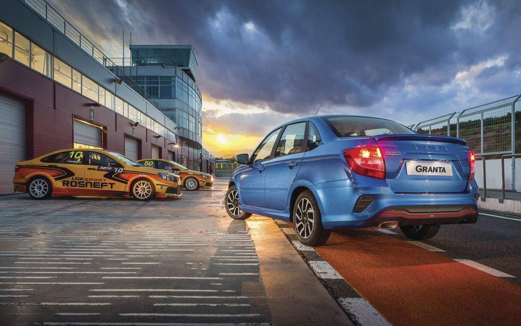АВТОВАЗ объявил стоимость новой модификации седана Granta с шасси от LADA Sport | CityTraffic