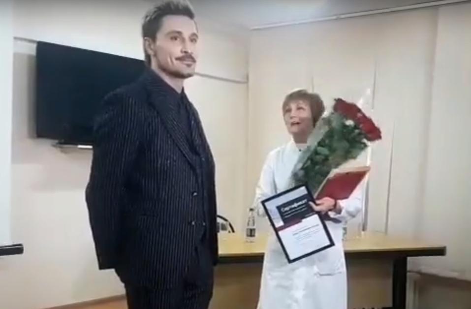 Сертификат на медицинское оборудование от Димы Билана получила областная детская больница имени Ивановой: видео | CityTraffic