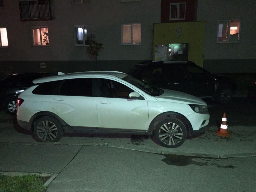 В Самаре водитель «Весты» сбил во дворе 8-летнюю девочку | CityTraffic