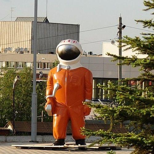 """Музей """"Самара Космическая"""" лишился знаменитой фигурки космонавта"""