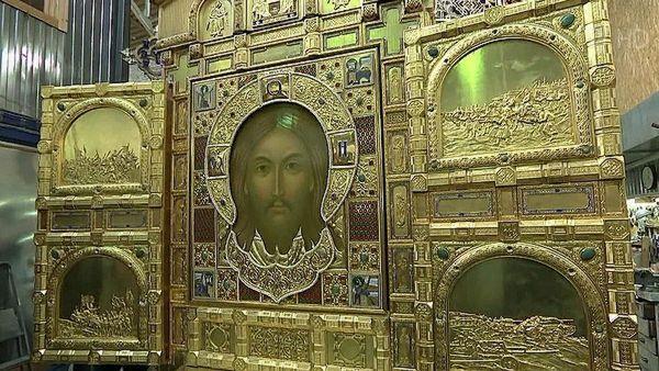 В Самару привезут икону,  созданную на средства Владимира Путина для главного храма Вооруженных сил РФ | CityTraffic