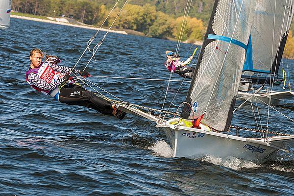 В Тольятти прошли первые гонки Чемпионата России в олимпийских классах яхт | CityTraffic