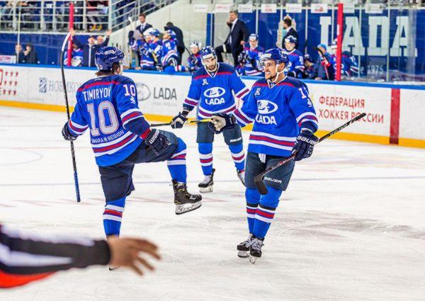 Тольяттинская «Лада» вКазани продолжает победную серию