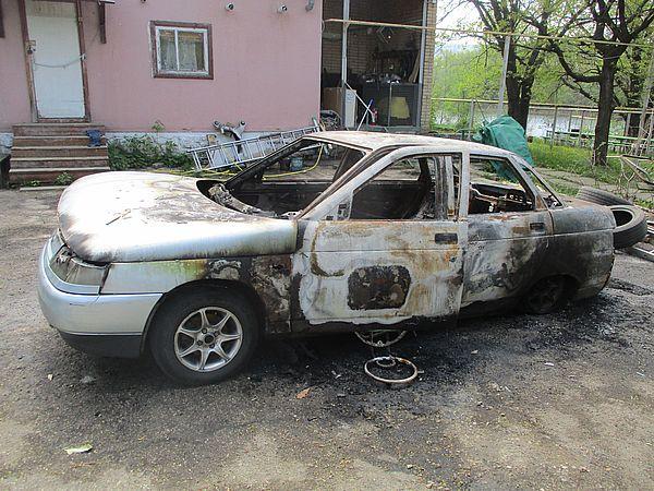 Управляющий базой отдыха из Самарской области поджег автомобиль своего экспедитора | CityTraffic