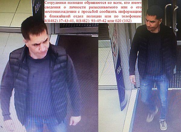 В Тольятти разыскивают подозреваемого в похищении имущества спортивного магазина: видео | CityTraffic