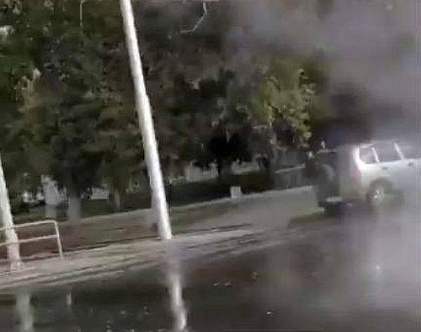 В Самаре в день старта отопительного сезона прорвало трубы с кипятком на Ново-Садовой: видео | CityTraffic