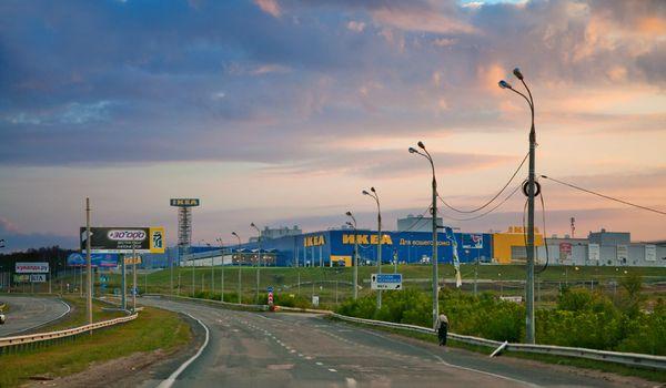 На въезде в Самару рядом с магазином «Икеа» могут ввести ограничения скорости автомобильного движения | CityTraffic
