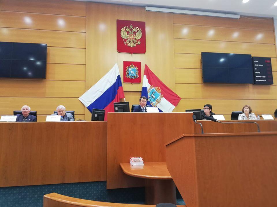 Одной из школ Самары хотят присвоить имя Почётного гражданина Самары Владимира Золотарева | CityTraffic