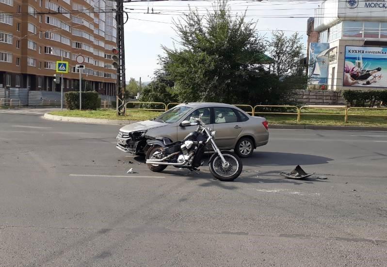 В Тольятти водитель-пенсионер сбил мотоциклиста | CityTraffic