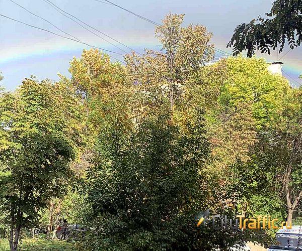 Над Самарой взошла двойная радуга | CityTraffic