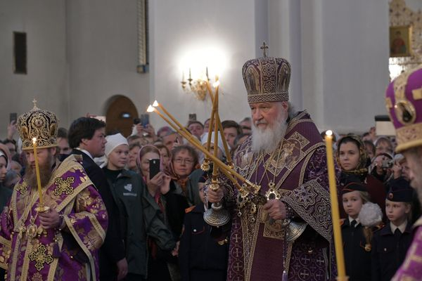Патриарх Кирилл провел в Тольятти всенощное бдение накануне праздника Воздвижения Креста Господня | CityTraffic