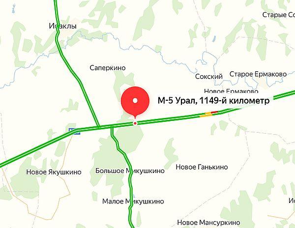 На трассе М-5 в Самарской области возобновлено движение | CityTraffic