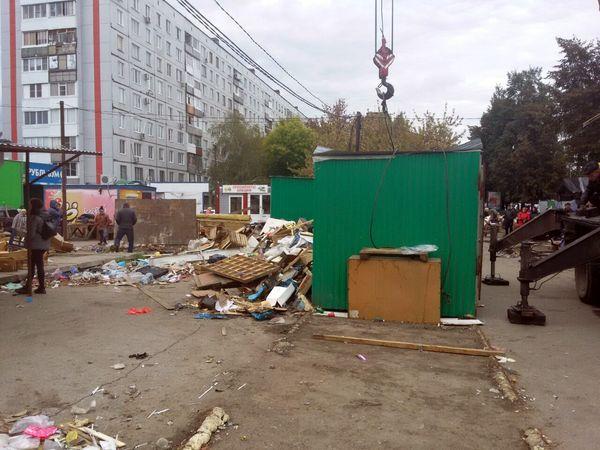 В Тольятти за 3 дня снесли 48 незаконно установленных киосков: видео | CityTraffic