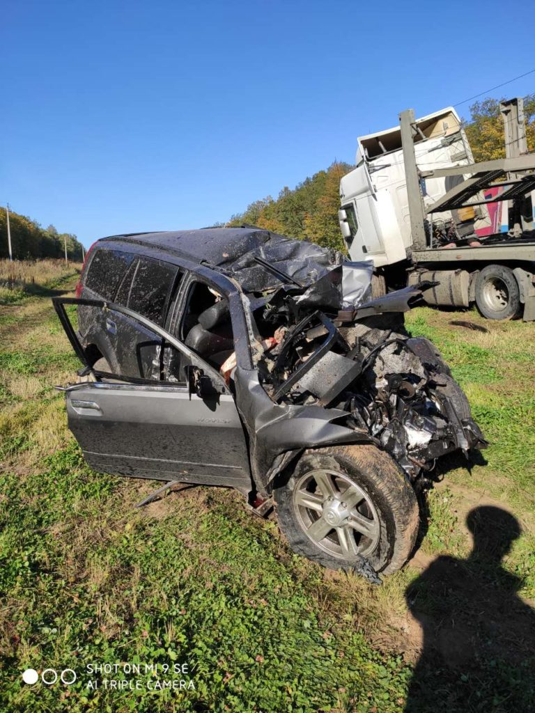 На трассе М-5 в Самарской области два человека погибли в столкновении легковушки с автовозом | CityTraffic
