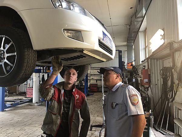 Сотрудники ГИБДД из Тольятти спасли жизнь котенку, который залез в моторный отсек патрульного автомобиля | CityTraffic