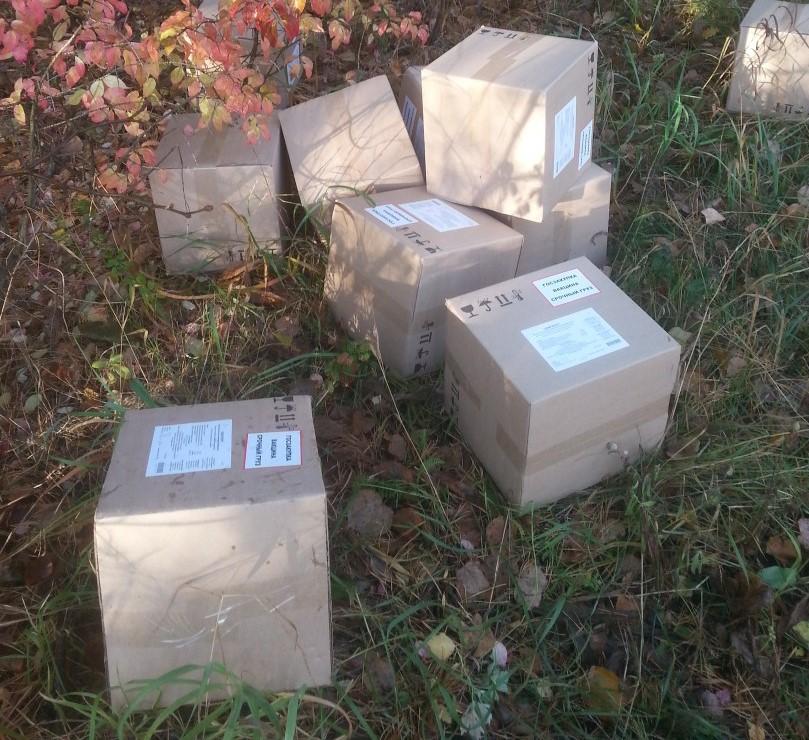 Госзакупка, срочный груз: в Тольятти ищут тех, кто выкинул в лес коробки с вакциной от гриппа | CityTraffic