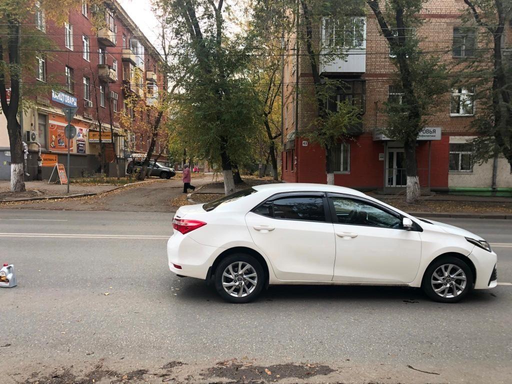 В Самаре водитель «Тойоты» сбил 11-летнюю девочку | CityTraffic