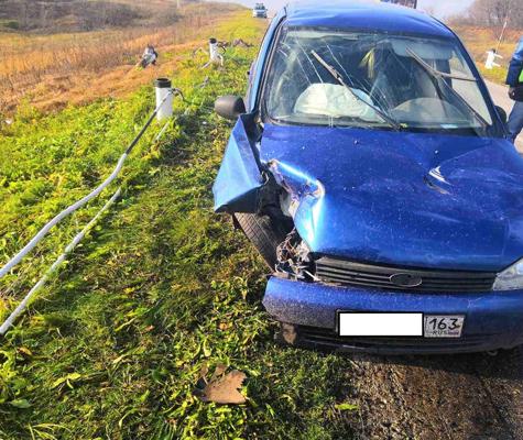В Самарской области перевернулась «Лада Калина», за рулем которой был пьяный водитель | CityTraffic