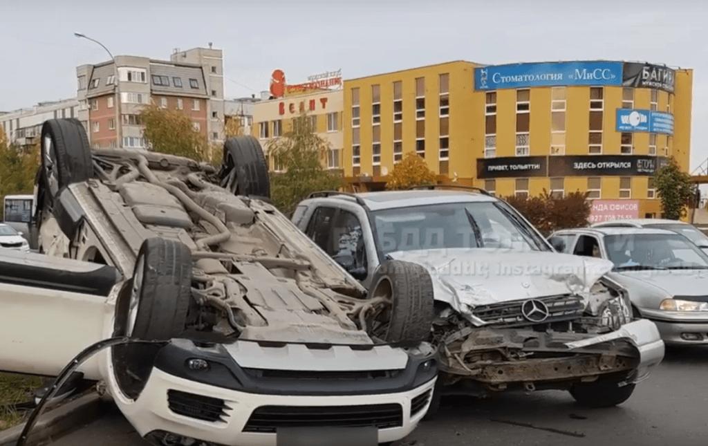 В Тольятти водитель «Хендай Грета» спровоцировал ДТП, но судить будут водителя «Мерседеса»: видео | CityTraffic
