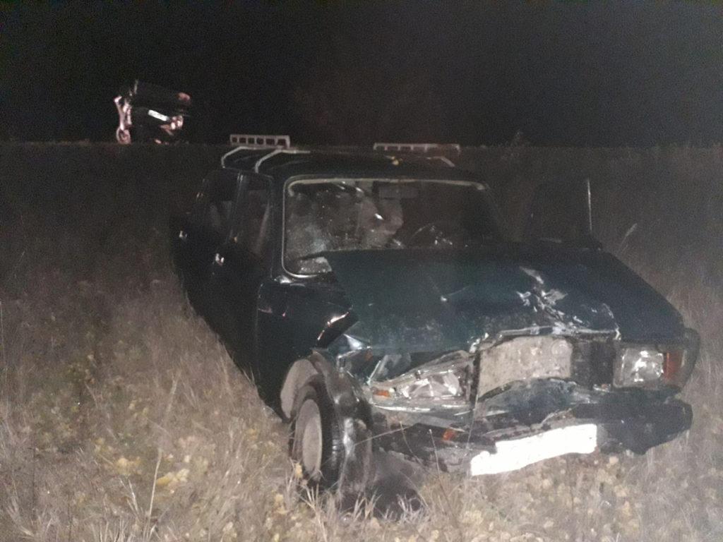 В Самарской области «семерка» протаранила сломавшуюся на дороге «семерку» | CityTraffic