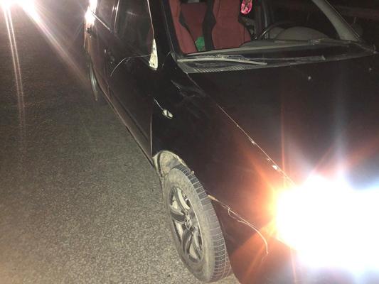 На автодороге Самара-Бугуруслан водитель «Калины» сбил пешехода, который ночью шел по проезжей части | CityTraffic