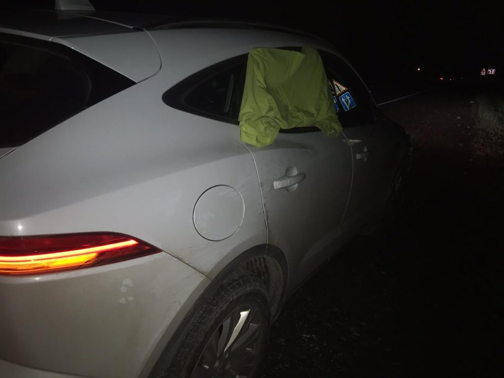 На трассе М-5 водитель «Ягуара» насмерть сбил пожилого пешехода | CityTraffic