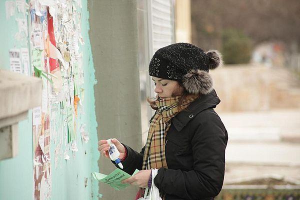 Глава Ленинского района Самары Елена Бондаренко рассказала, как борется с расклейщиками объявлений | CityTraffic
