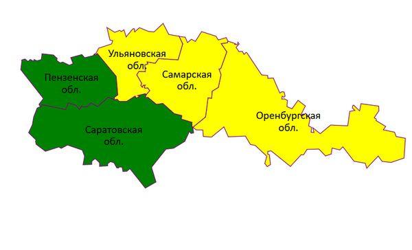 Погода в Самарской области продолжает оставаться на желтом уровне опасности | CityTraffic