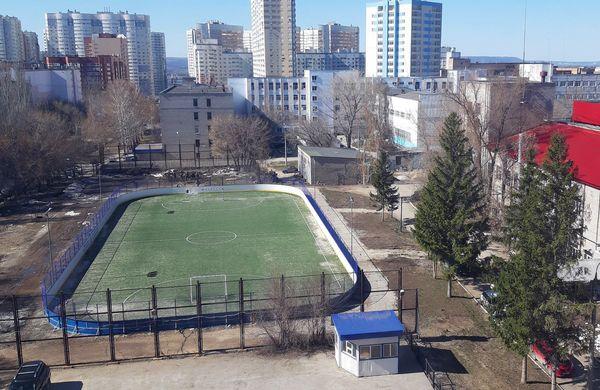 Спортплощадка для Самарского университета передана в федеральную собственность   CityTraffic