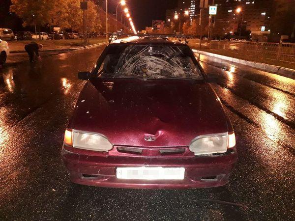 В Тольятти сбитый пешеход получил травму головы | CityTraffic