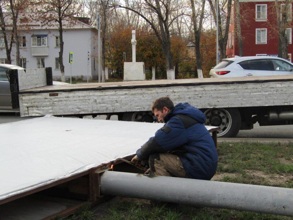 В Самаре  демонтируют 400 рекламных щитов | CityTraffic