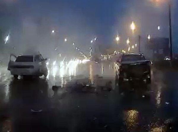 Один человек погиб и четверо попали в больницу после столкновения трех автомобилей в Самаре: видео | CityTraffic