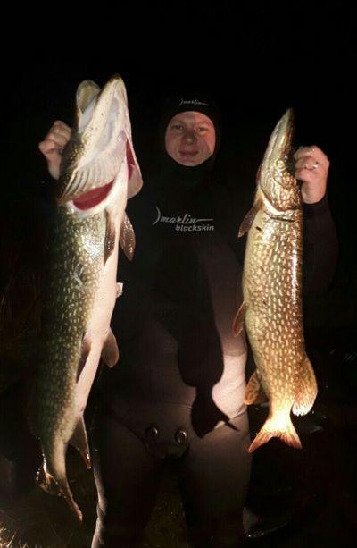 Рыбак из Самары поймал 9-килограммовую щуку гарпуном | CityTraffic