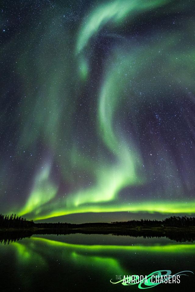 Жители Австралии и Аляски сняли на видео полярное сияние | CityTraffic