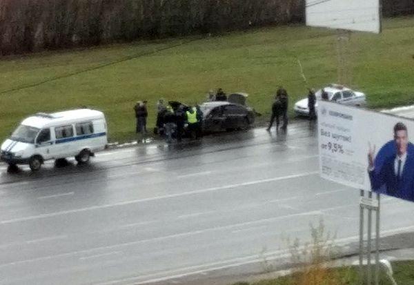 В Тольятти три полицейских автомобиля догоняли водителя на черном БМВ: видео | CityTraffic