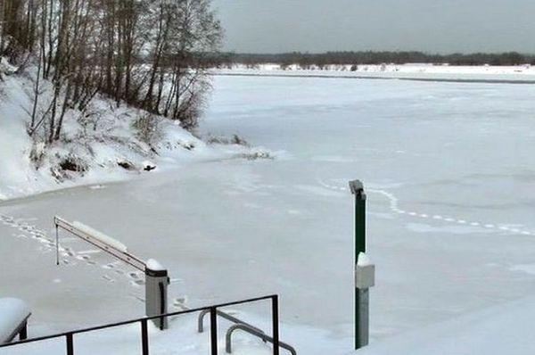 На Волге в Самарской области  зимой хотят установить шлагбаумы | CityTraffic