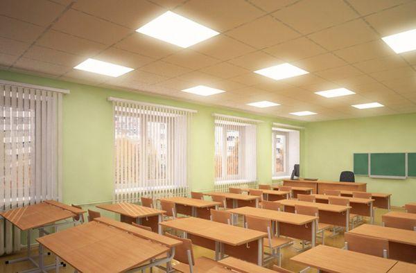 И никаких цветов: Роспотребнадзор рассказал, как должны освещаться школьные кабинеты | CityTraffic
