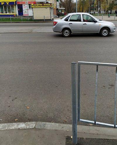 В Самаре «упразднили» переход на пересечении улиц Юбилейной и Победы | CityTraffic