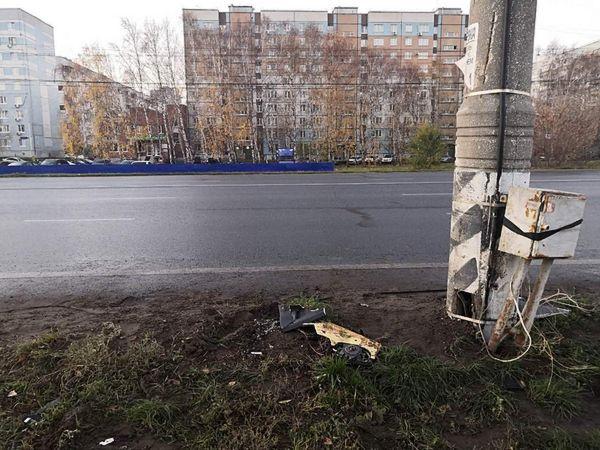 """В Тольятти """"восьмерка"""" врезалась в столб   CityTraffic"""