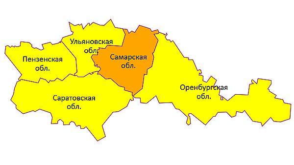 Штормовое предупреждение: уровень метеоопасности в Самарской области повысили до оранжевого | CityTraffic