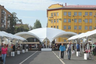 В Самаре из-за Парада Памяти перенесут ярмарку, работающую на площади Куйбышева   CityTraffic
