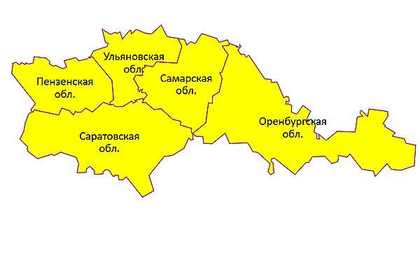 В Самарской области объявлен желтый уровень опасности из-за ветра | CityTraffic
